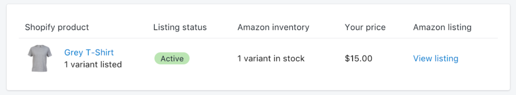 Shopify-product-listing