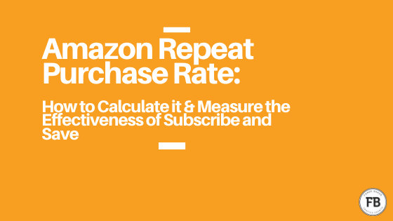 amazon repeat purchase rate