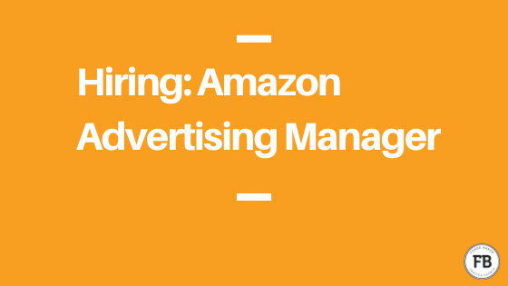 Amazon advertising manager